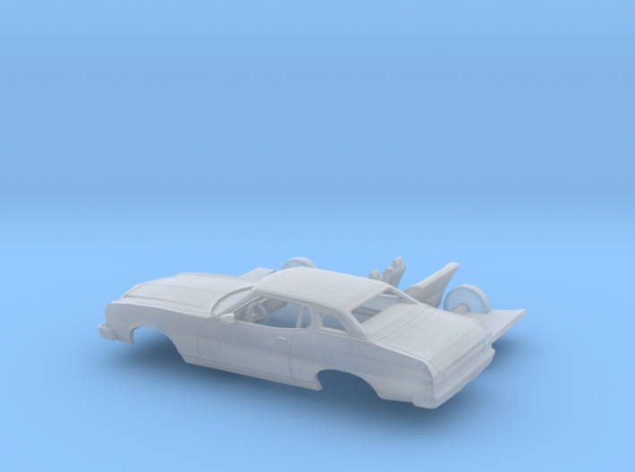 1/87 1974-76 Ford Gran Torino Brougham Coupe Kit 3d printed