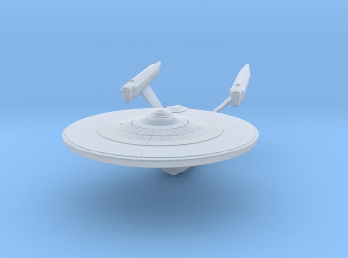 Federation Enterprise-Class Mk3 Refit 1:3125 3d printed