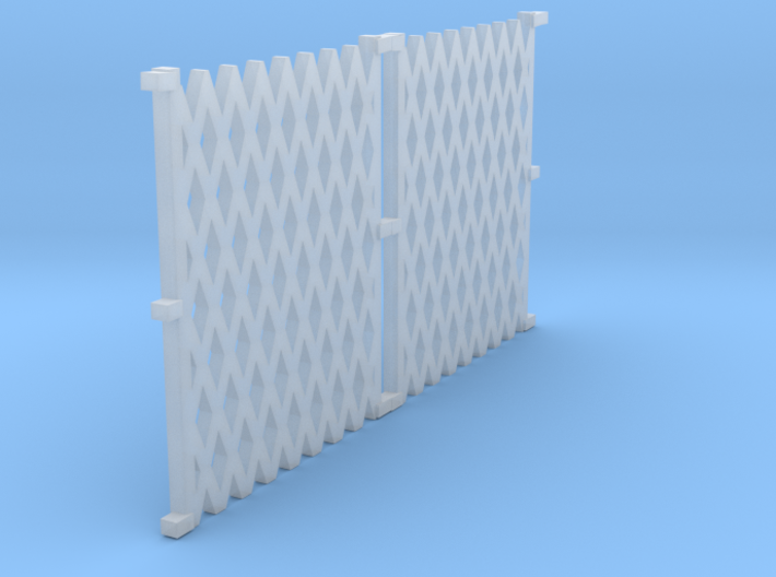 o-76-lswr-folding-gate-new-set 3d printed