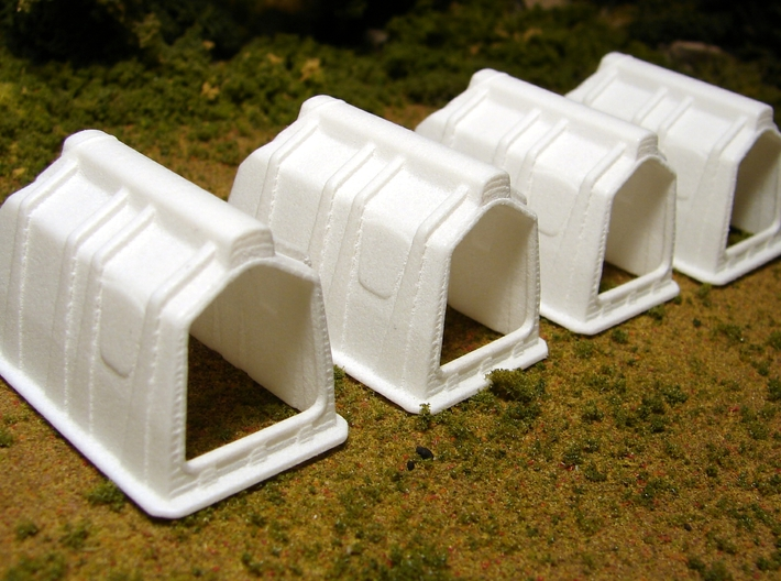 "1/64th ""S"" Scale Calf Hutch set of Six 3d printed Picture of four is for reference only, this is for a set of 6."