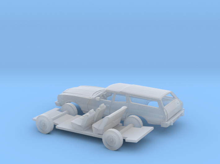 1/160 1974-76 Ford Torino Station Wagon Kit 3d printed