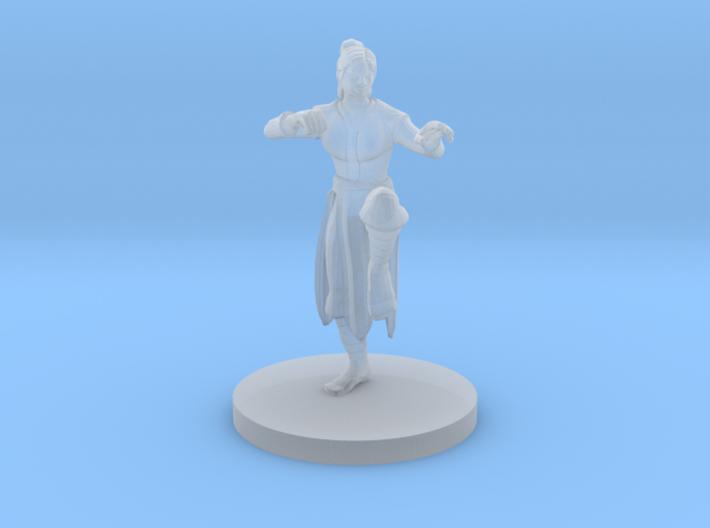 Human Female Monk 3d printed