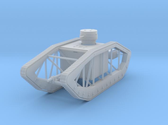 PV32B Pioneer Skeleton Tank (1/100) 3d printed