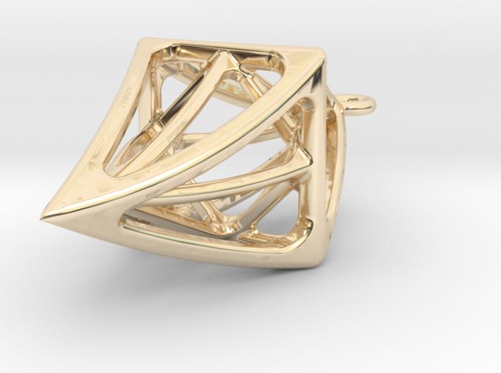 DIAMOND Earings 3d printed