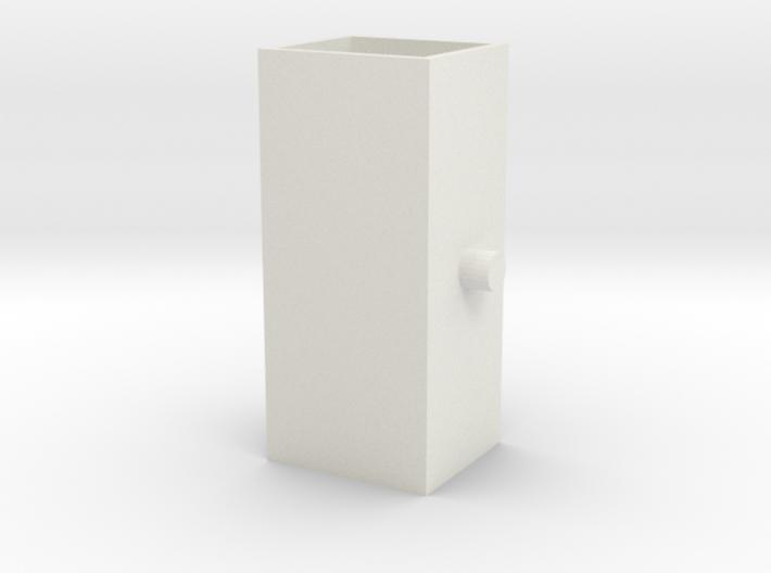 Aslichaam middendeel 3d printed