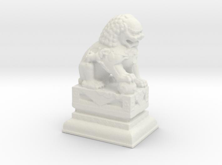 Manhattan Chinatown Lion 3d printed