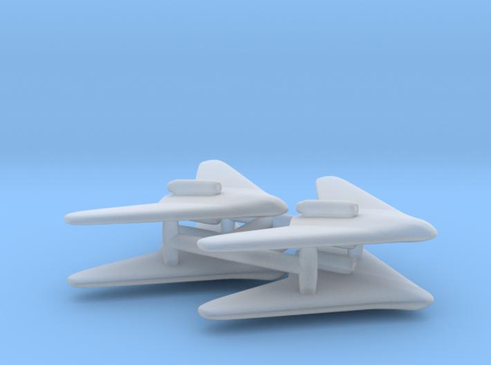(1:700) (x4) Gotha P.60A 3d printed