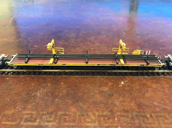 Crane for Salmon  track carrying wagons in N gauge 3d printed