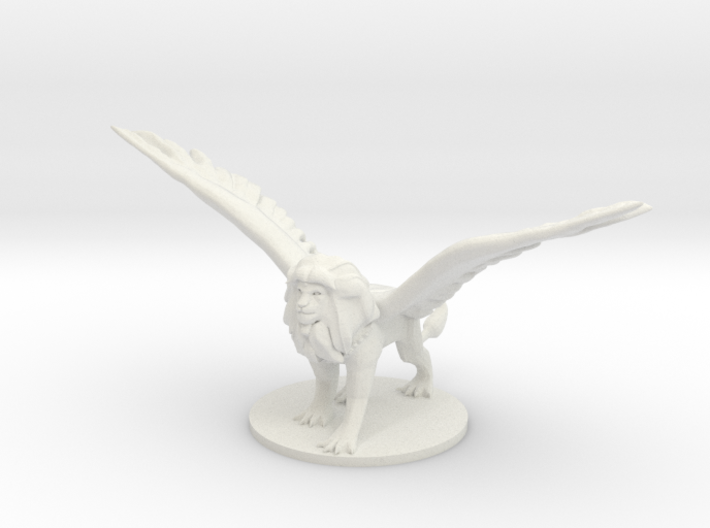 Androsphinx 3d printed