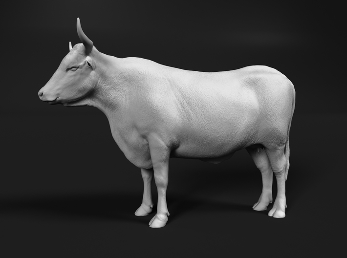 ABBI 1:48 Standing Cow 3d printed