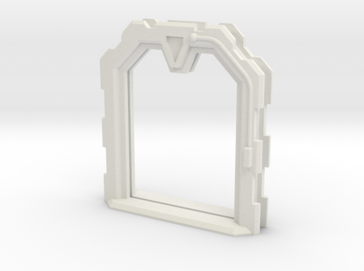 Sci-Fi Door Open (Extra Large) 3d printed