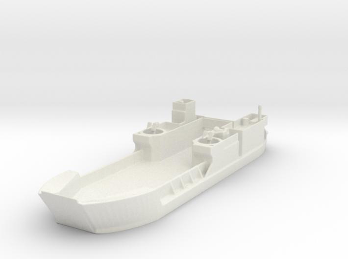 Landing Craft Tank LCT MK 6 1/200 3d printed