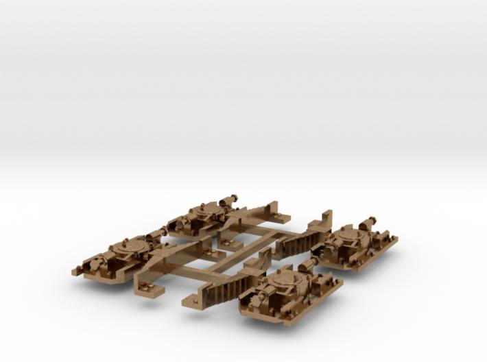 Set van 4 Aspotten met verenpakket Oersik in Messi 3d printed