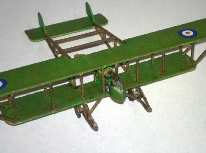 "Maurice Farman MF.11 ""Shorthorn"" 3d printed Paint job and photo courtesy ""The Grumbling Grognard"""