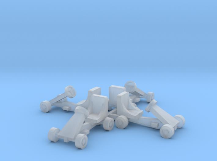 Kinder- Go-Kart 3d printed
