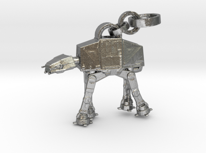 Robot Pendant 3d printed