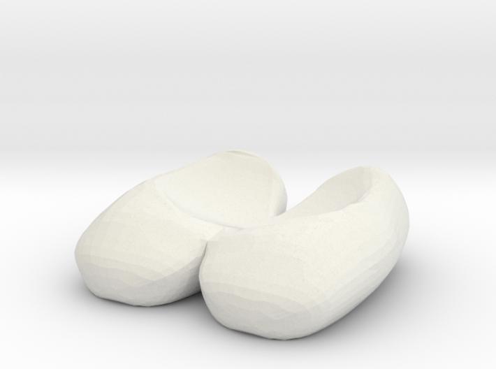 Eggcessories! Egg Shoes 3d printed