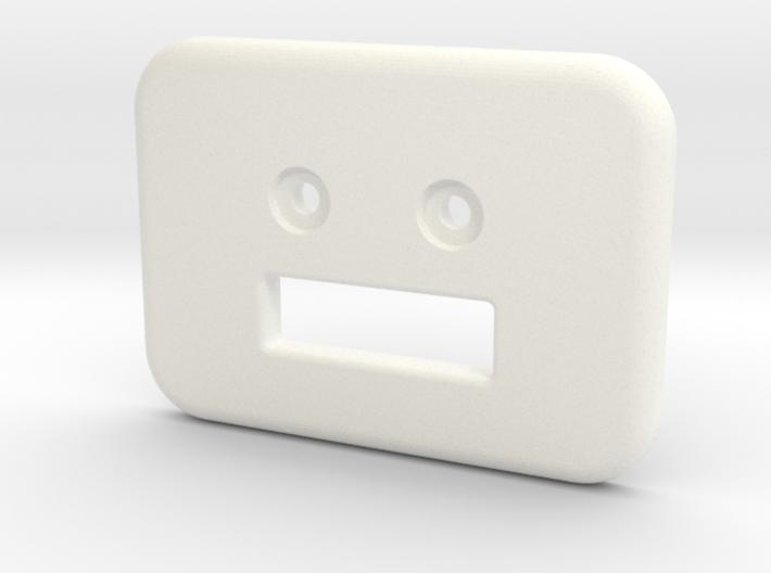 Bunk clip counterbored 3d printed