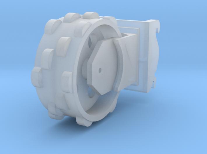 verdichtingswiel 3D 3d printed