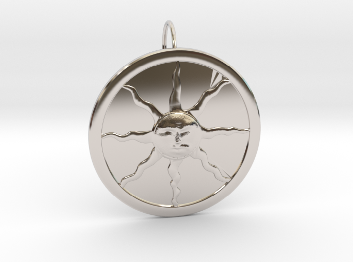 Sunlight Pendant for Large Chains 3d printed