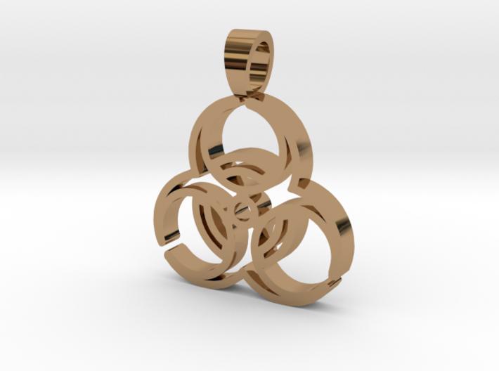 Biohazard [pendant] 3d printed