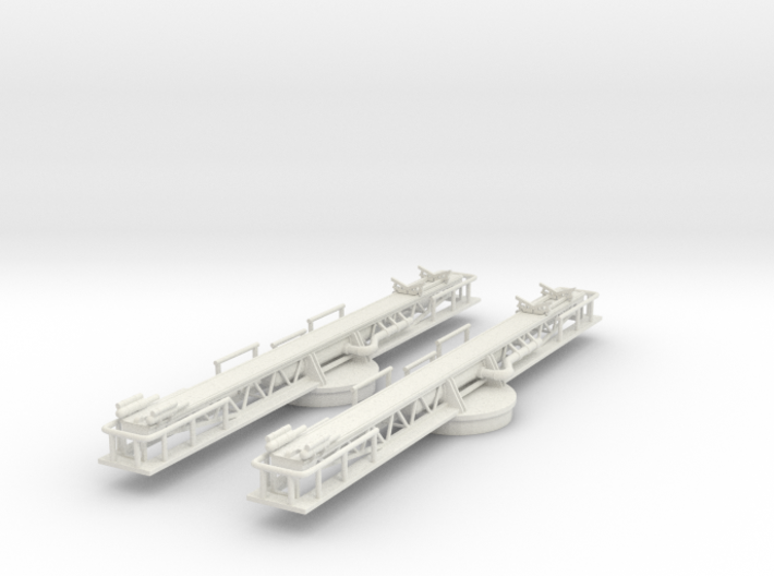 Best Cost 1/144 USN P-6 Catapult Set 3d printed