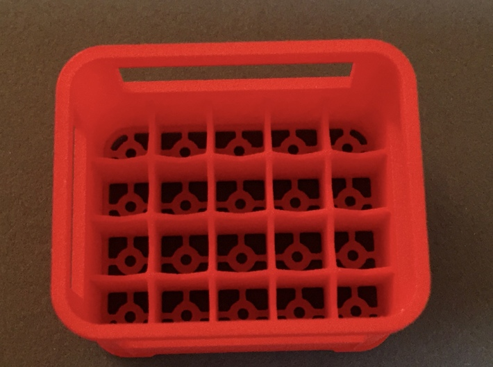 Crate for beer bottles  3d printed