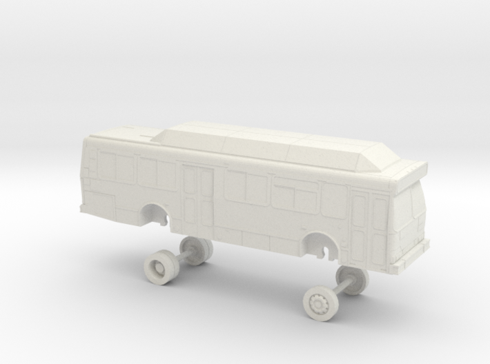 HO Scale Bus Orion V 35' Yolobus 705-707 3d printed