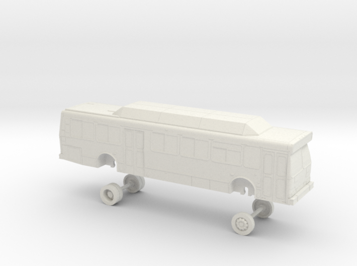 HO Scale Bus Orion V Yolobus 708-713 3d printed