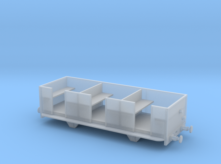 009 Talyllyn Open Carriage No 8-12 3d printed