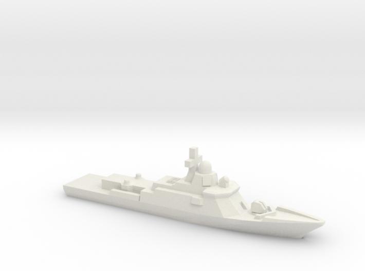 Karakurt-class corvette, 1/2400 3d printed