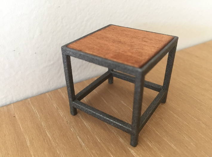 1:12 Table occasional square 3d printed