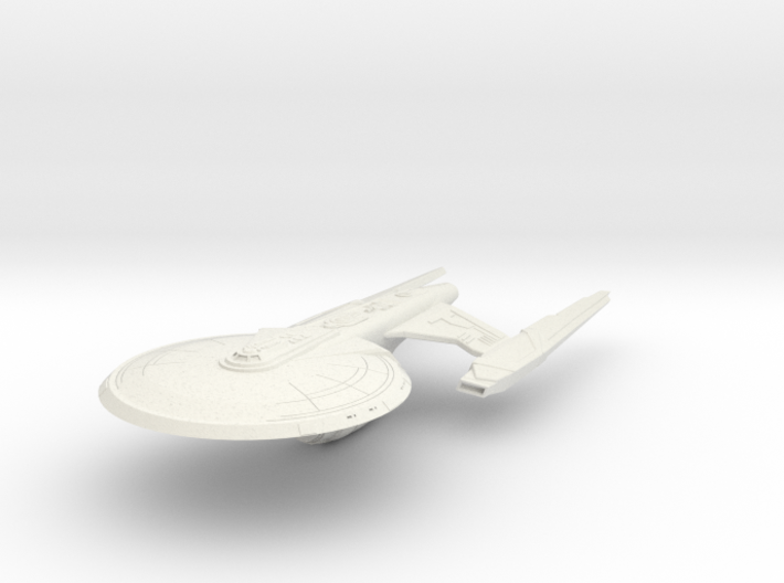 Alt Federation Hood Class Destroyer 3d printed