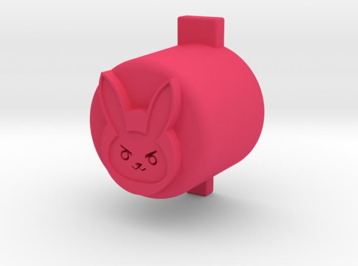 d.va button 3d printed