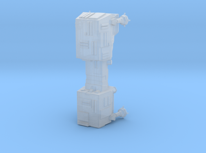 Galactic Empire World Devastator 76mm  3d printed