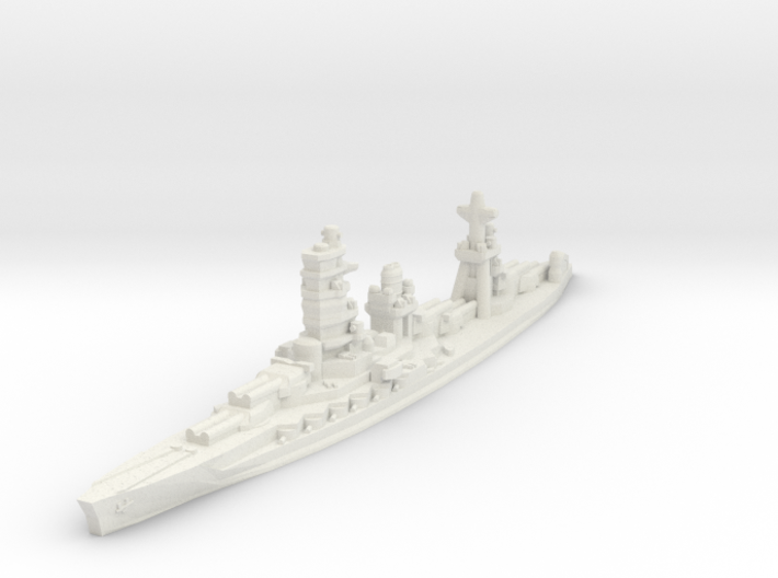 Ise battleship 1/1800 3d printed