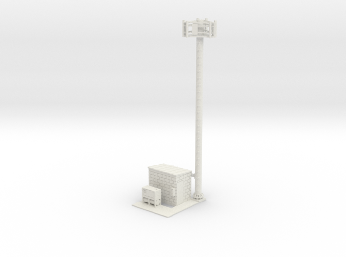 Cell Tower Site 1-50 Scale 3d printed