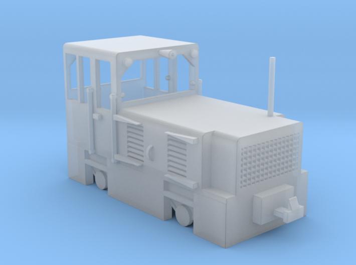 WHR Hunslet 9262 diesel shunter loco Bill 3d printed