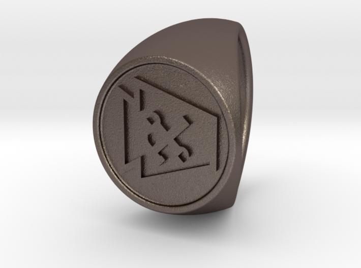 Custom Signet Ring 78 3d printed