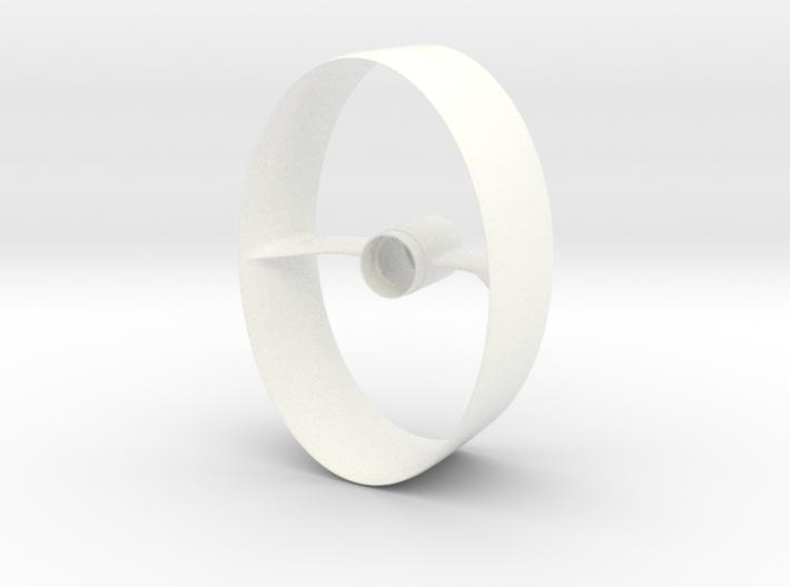 Elliptical ring fin unit BT50 for 18mm 3d printed