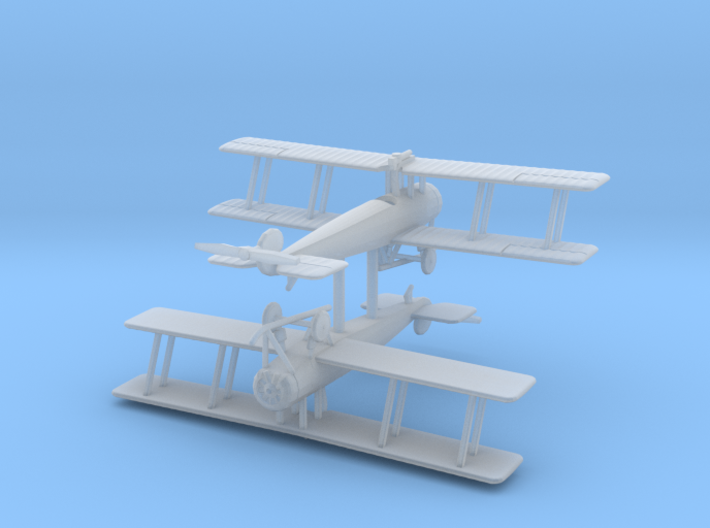1/200 Avro 504K single-seat (x2) 3d printed
