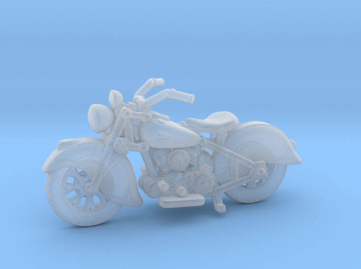 Indian Sport Scout 1940 1:87 HO 3d printed