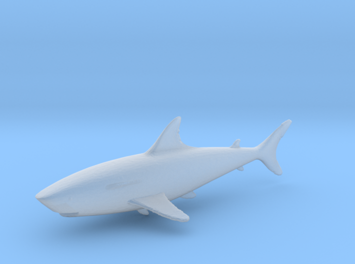 HO Scale shark 3d printed This is a render not a picture