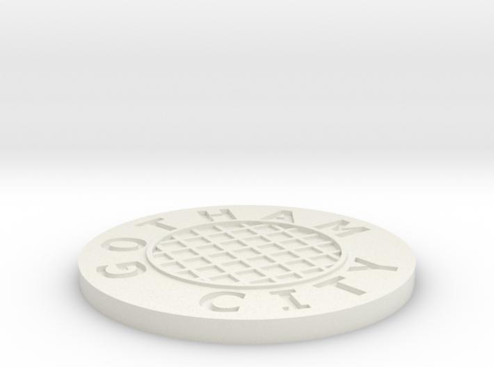 Sewer lid 3d printed