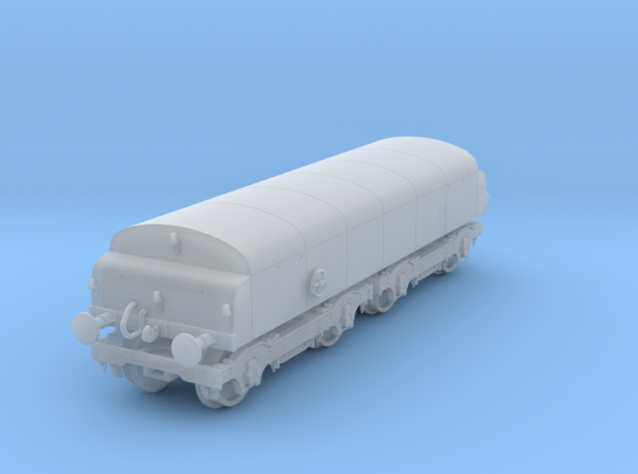 Diesel Break Tender N gauge 3d printed