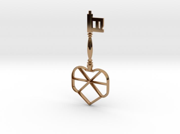 Unity Key 3d printed
