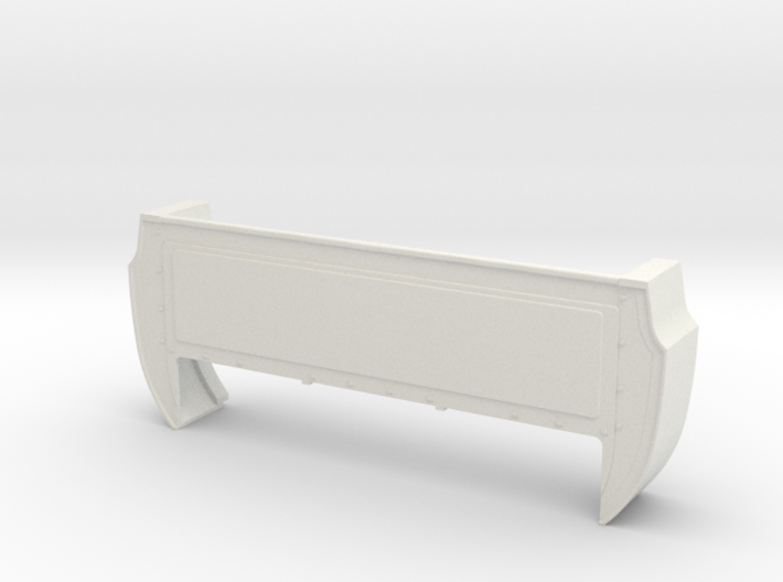 Bed Extension -12.6 In. Wheelbase for RC4WD Blazer 3d printed