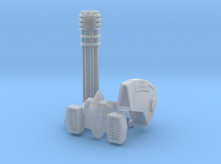Tsunami Mech Upgrade Kit 2.2 3d printed