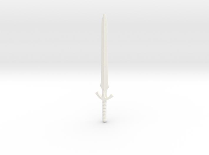 Galaxy Warriors Sword 3d printed