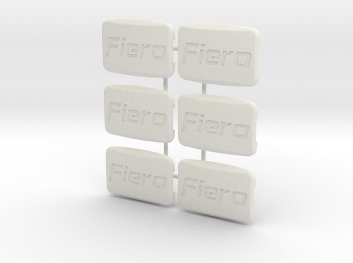 Pontiac Fiero Taillight Screw Cover Logo 6-set 3d printed